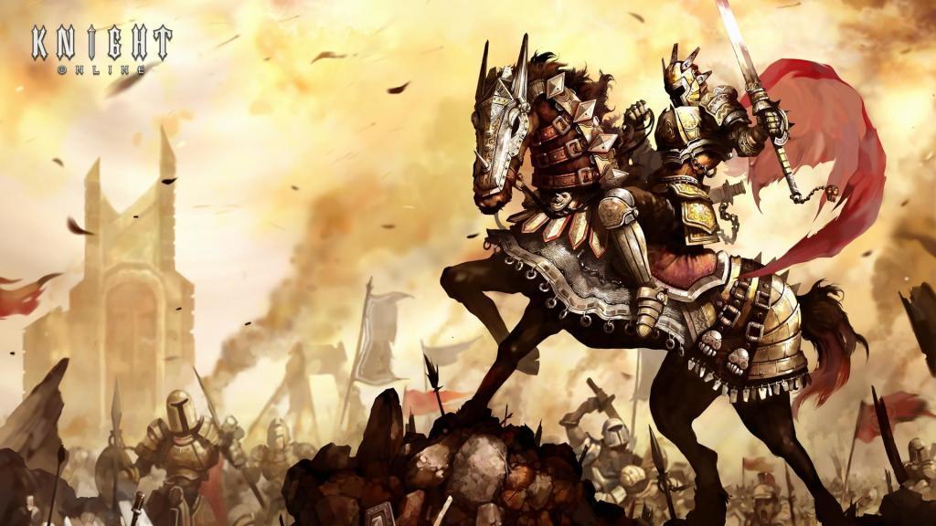 Knight Online Fan Art Çalışması