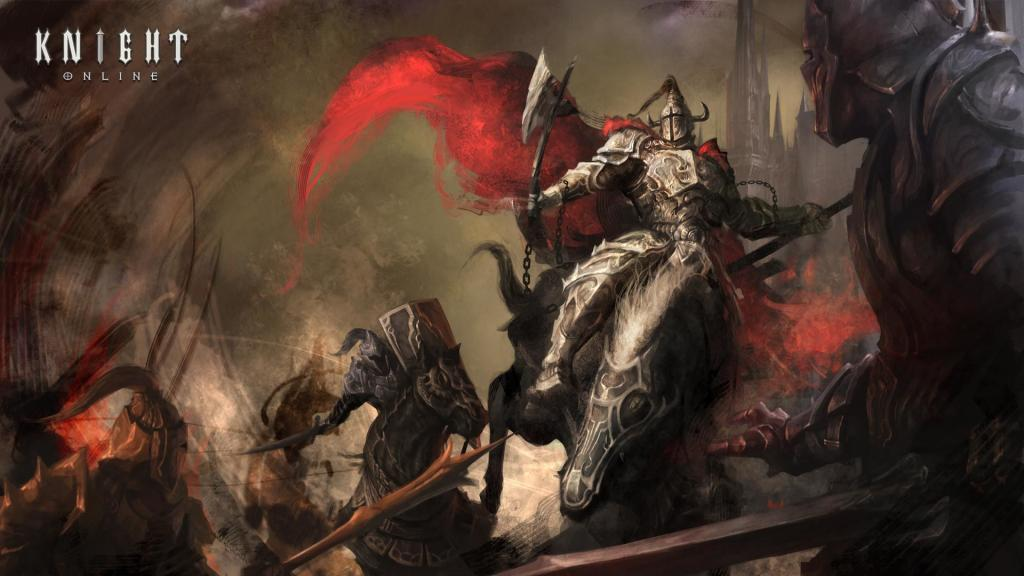 Knight Online Fan Art Wallpaper Çalışması