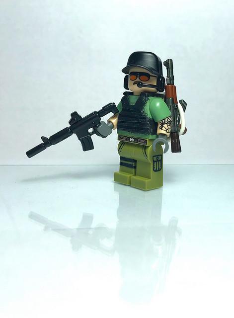 Lego PUBG Adam