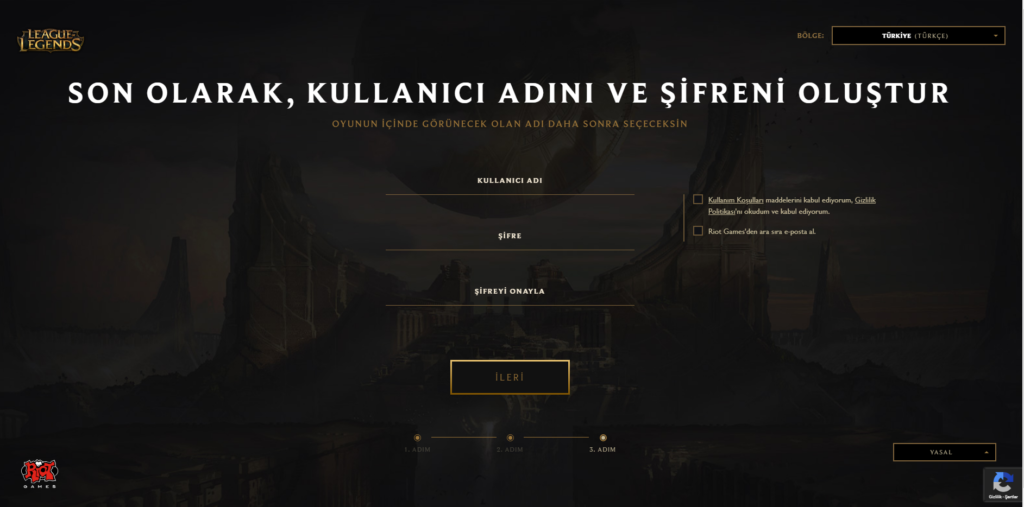 League-of-Legends-Kayit-Olma-Ücüncü-Adim