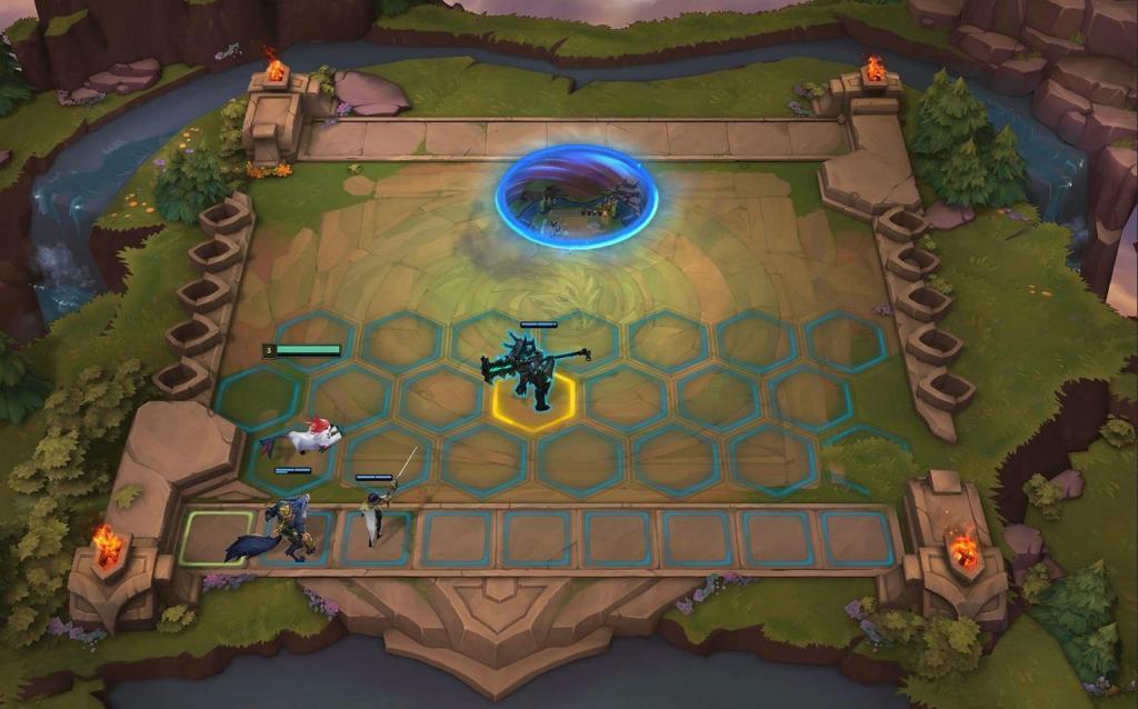 league of legends taktik savaşları arenası